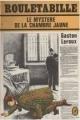 Couverture Le mystère de la chambre jaune Editions Le Livre de Poche (Policier) 1976