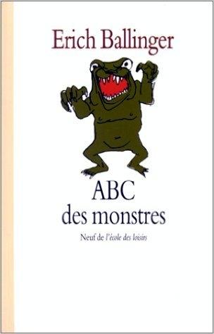 Couverture ABC des monstres