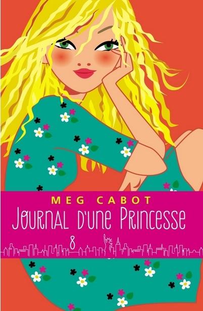 Couverture Journal d'une Princesse, tome 08 : Une princesse dans la tourmente / De l'orage dans l'air