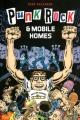 Couverture Punk Rock et mobile homes Editions Çà et là 2014