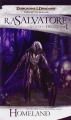 Couverture Les Royaumes Oubliés : La Légende de Drizzt, tome 01 : Terre Natale Editions Wizards of the Coast 2005