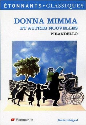 Couverture Donna Mimma et autres nouvelles