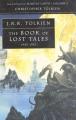 Couverture Histoire de la Terre du Milieu, tome 01 : Le premier livre des contes perdus Editions HarperCollins 1991