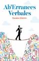 Couverture Ab'Errances Verbales Editions Autoédité 2016