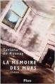 Couverture La mémoire des murs Editions Plon 2003