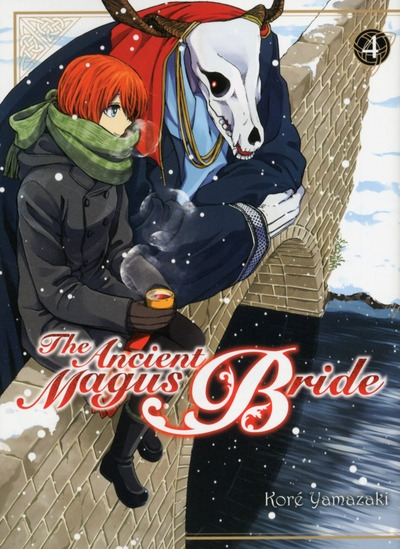 Couverture The ancient magus bride, tome 4