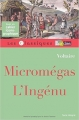 Couverture Micromégas, L'Ingénu Editions Bordas 2003