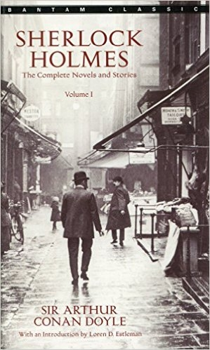 Couverture Sherlock Holmes: The complete novels and stories, book 1