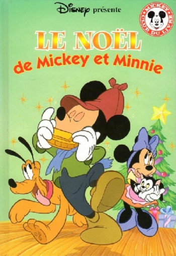 Couverture Le Noël de Mickey et Minnie