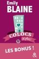 Couverture Colocs (et plus), intégrale des bonus Editions Harlequin (&H) 2015