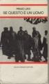 Couverture Si c'est un homme Editions Einaudi 1980