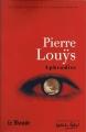 Couverture Aphrodite Editions Le Monde 2010
