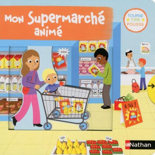 Couverture Mon supermarché animé