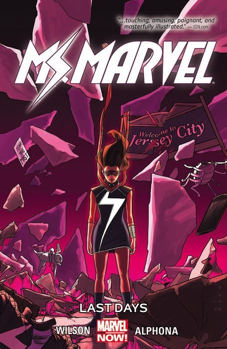 Couverture Ms. Marvel, book 4: Last Days