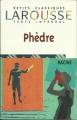 Couverture Phèdre Editions Larousse (Petits classiques) 1998