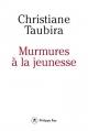 Couverture Murmures à la jeunesse Editions Philippe Rey 2016
