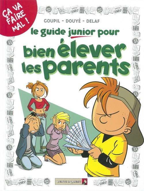 Couverture Le guide junior, tome 03 : pour bien élever ses parents