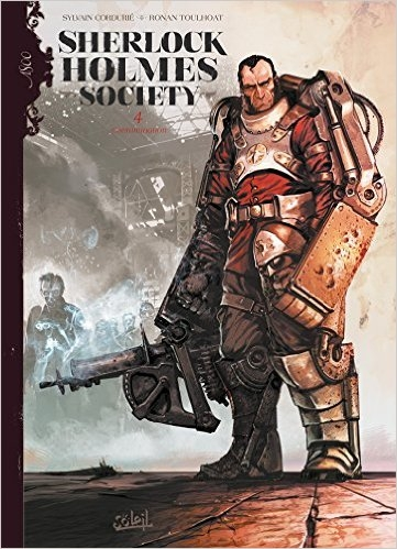 Couverture Sherlock Holmes Society, tome 4 : Contamination