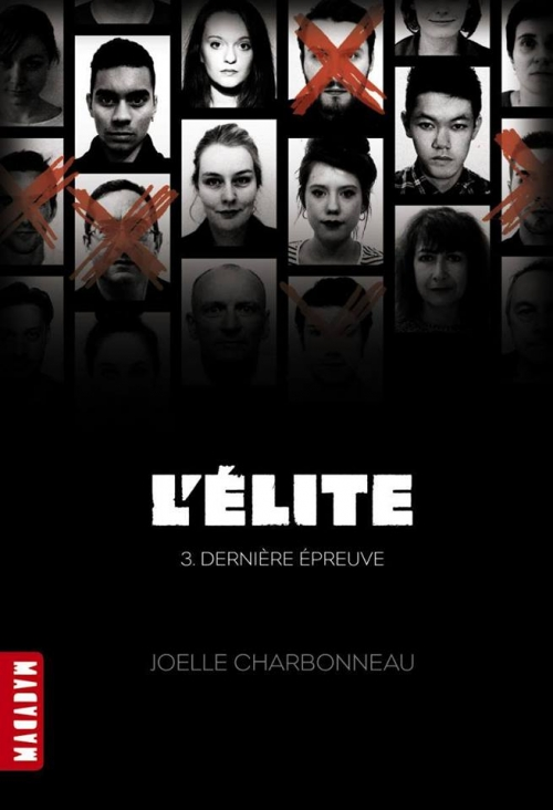 Couverture L'élite, tome 3 : Dernière épreuve