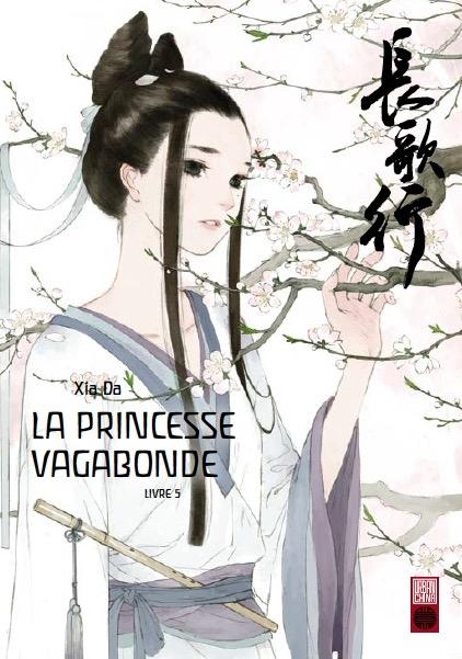 Couverture La princesse vagabonde, tome 5