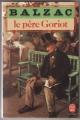 Couverture Le Père Goriot Editions Le Livre de Poche 1983