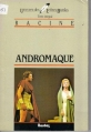 Couverture Andromaque Editions Bordas (Univers des lettres) 1981