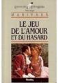 Couverture Le jeu de l'amour et du hasard Editions Bordas (Univers des lettres) 1984