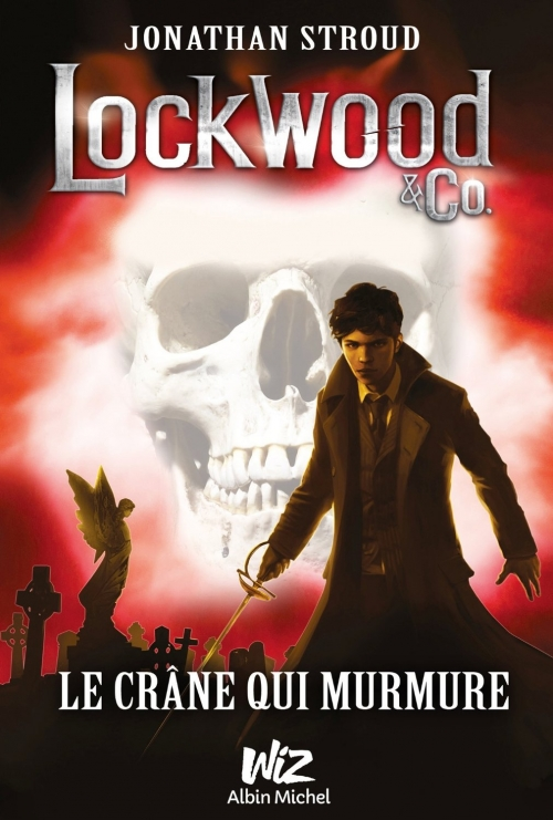 Couverture Lockwood & co., tome 2 : Le crâne qui murmure