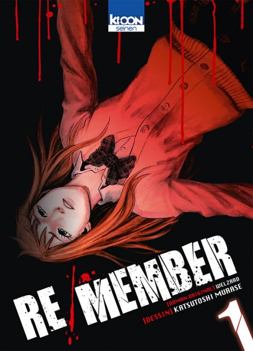 Couverture Re/Member, tome 01
