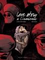 Couverture Love story à l'iranienne Editions Delcourt (Mirages) 2016