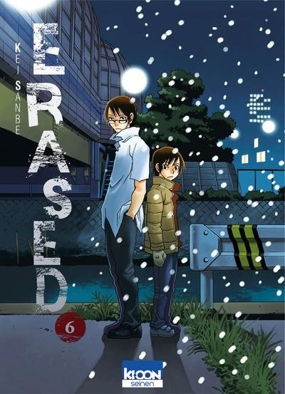 Couverture Erased, tome 6