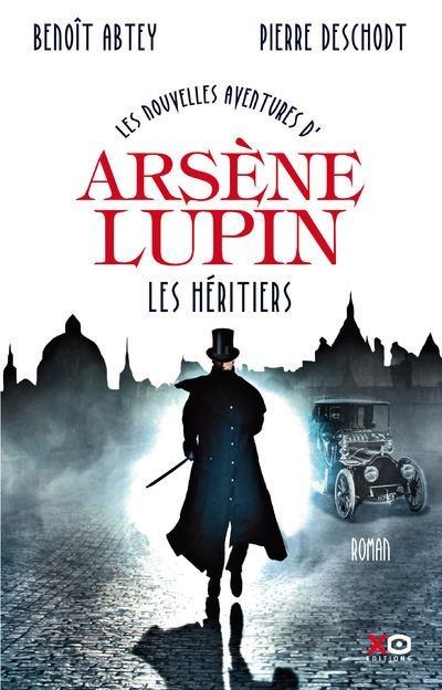 Couverture Les nouvelles aventures d'Arsène Lupin : Les héritiers