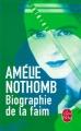 Couverture Biographie de la faim Editions Le Livre de Poche 2015