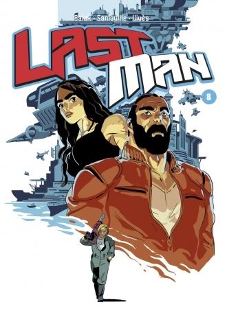 Couverture Lastman, tome 08