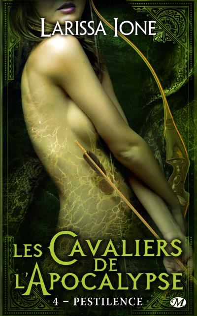 Couverture Les Cavaliers de l'Apocalypse, tome 4 : Pestilence