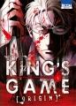 Couverture King's Game Origin, tome 5 Editions Ki-oon (Seinen) 2016