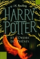 Couverture Harry Potter, tome 5 : Harry Potter et l'ordre du phénix Editions Pottermore Limited 2012