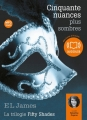 Couverture Cinquante nuances de Grey, tome 2 : Cinquante nuances plus sombres Editions Audiolib 2013