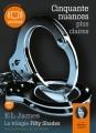 Couverture Cinquante nuances de Grey, tome 3 : Cinquante nuances plus claires Editions Audiolib 2013