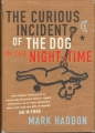Couverture Le bizarre incident du chien pendant la nuit Editions Jonathan Cape 2003