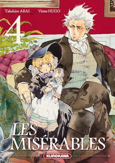 Couverture Les Misérables (manga), tome 4