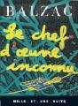 Couverture Le chef-d'oeuvre inconnu Editions Mille et une nuits 1993
