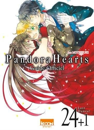 Couverture Pandora Hearts, tome 24.5 : Guide Officiel