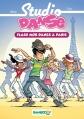 Couverture Studio Danse (roman), tome 3 : Flash mob dance à Paris Editions Bamboo 2012