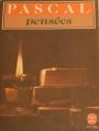 Couverture Pensées Editions Le Livre de Poche 1993