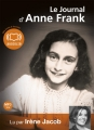 Couverture Le journal d'Anne Frank Editions Audiolib 2011