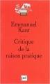 Couverture Critique de la raison pratique Editions Presses universitaires de France (PUF) (Quadrige - Grands textes) 2008