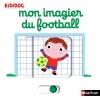 Couverture Mon imagier du football Editions Nathan (Kididoc) 2016