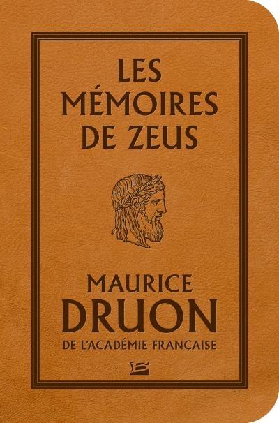 Couverture Les Mémoires de Zeus