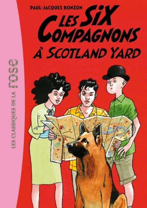 Couverture Les Six Compagnons à Scotland Yard